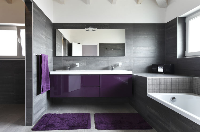 Bathroom Design Ideas Purple bathroom design ideas | sky renovation & new construction