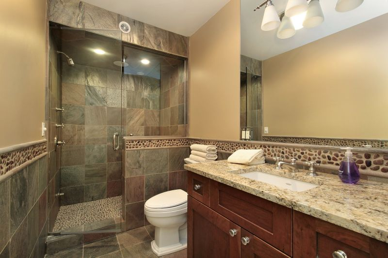 Groovy Bathroom Remodel Pictures Sky Renovation New Construction Home Interior And Landscaping Elinuenasavecom