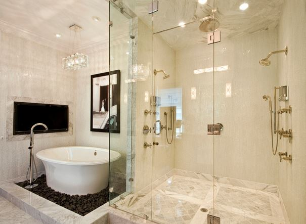 sky renovation bathroom - Bathroom Remodel Los Angeles